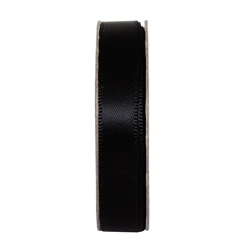 3MTR. RIBBON - SATIN - JET BLACK