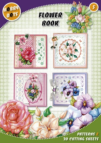 Hobbydots 5 - Flower Book