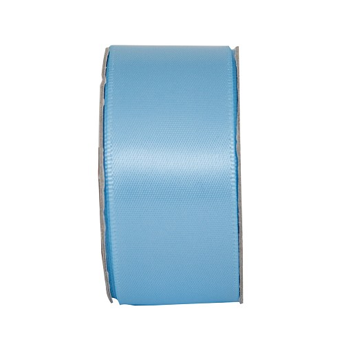 3MTR. RIBBON - WIDE SATIN - SOOTHING BLUE