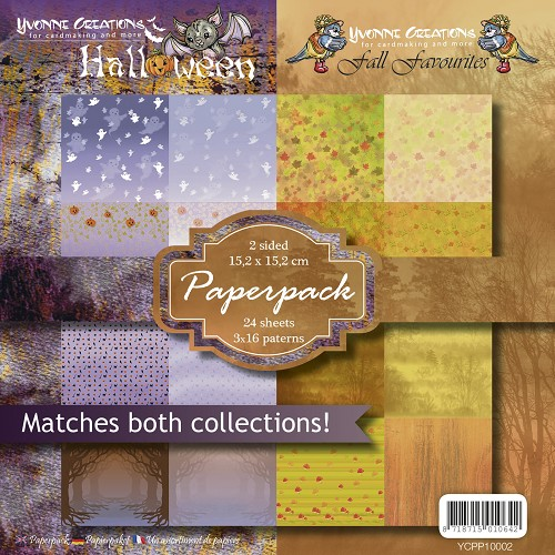 Yvonne Creations - Paperpack - Halloween & Fall Favourites