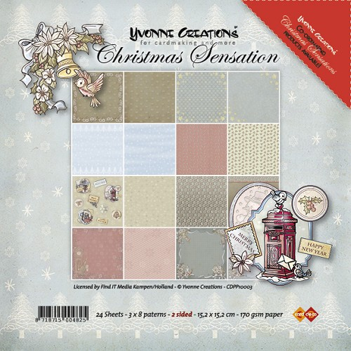 Paperpack - Yvonne Creations - Christmas Sensation - Paperpack
