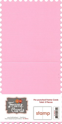 Frame Cards - Vierkant - Roze