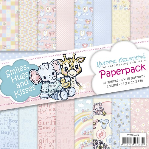 Paperpack - Yvonne Creations - Smiles, Hugs and Kisses