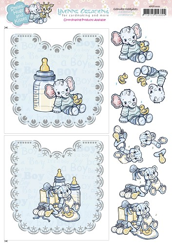 Hobbydots Sheets - Yvonne Creations - Baby Boy