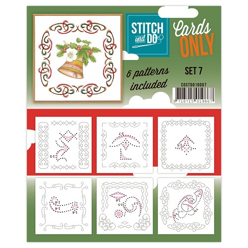 Stitch & Do - Cards only - set 7