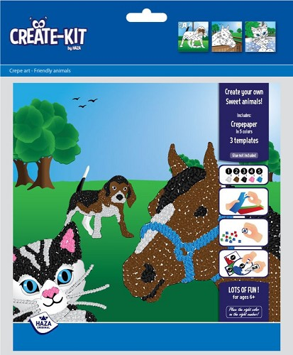 Create-kit Crepe Sweet Animals