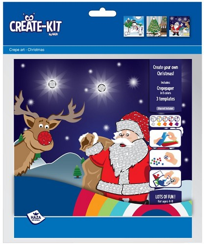 Create-kit Crepe Kerstmis