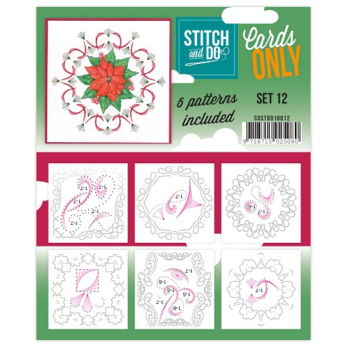Stitch & Do - Cards only - Set 12