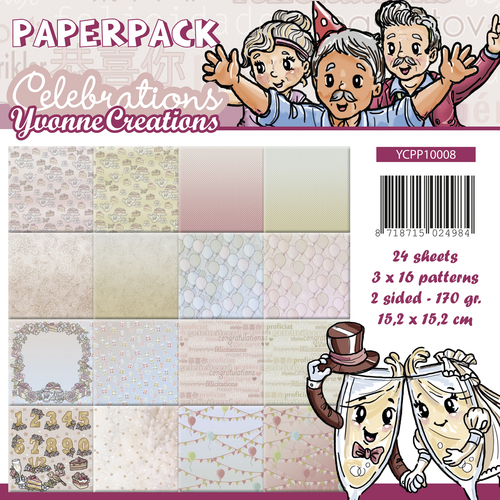 Paperpack - Yvonne Creations - Celebrations