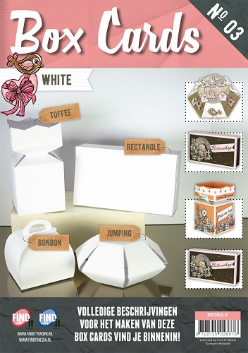 Box Cards 3 - Wit