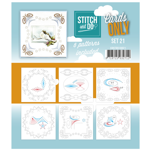 Stitch & Do - Cards only - Set 21