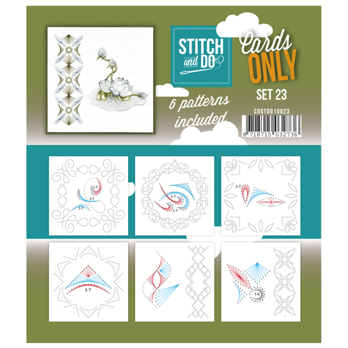 Stitch & Do - Cards only - Set 23