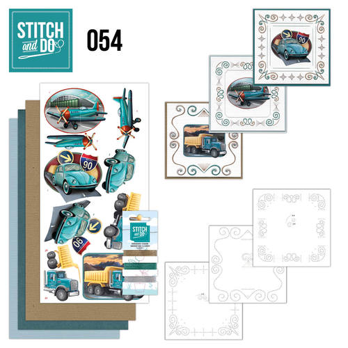 Stitch and Do 54 - Vintage Vehicles