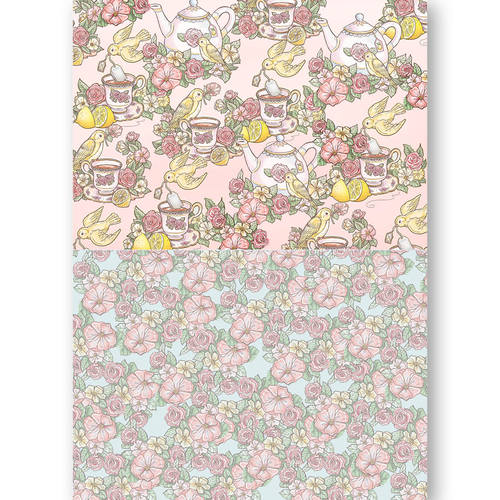 Background Sheets - Yvonne Creations - Get Well Soon