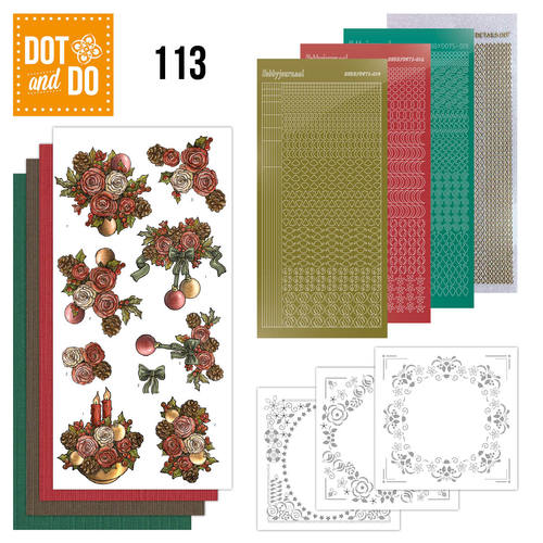 Dot and Do 113- Christmas Flowers