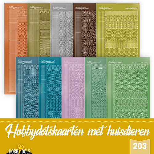 Stickerset Hobbydols 203