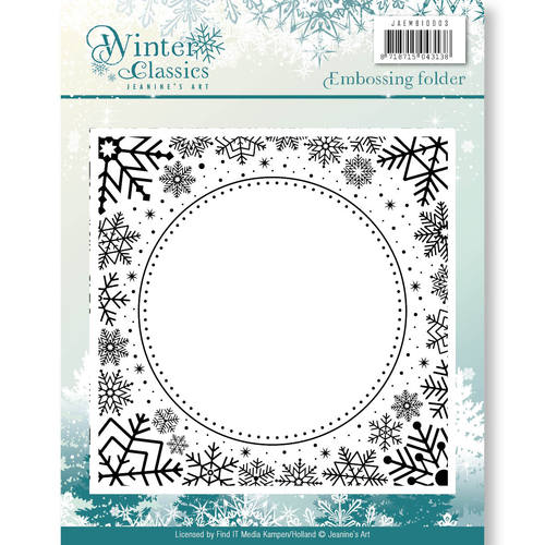 Embossing Folder - Jeanines Art - Winter Classics