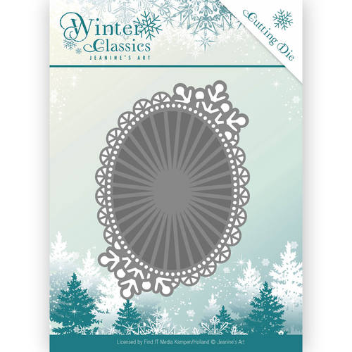Die - Jeanine`s Art - Winter Classics - Mirror Oval