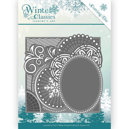 Die - Jeanine`s Art - Winter Classics - Curly Frame