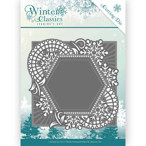 Die - Jeanine`s Art - Winter Classics - Mosaic frame
