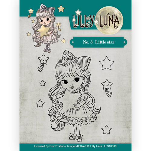 Clearstamp -Lilly Luna - 3 Little Star