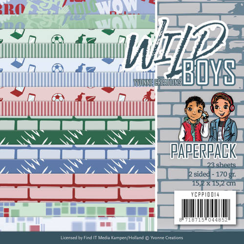 Paperpack - Yvonne Creations - Wild Boys