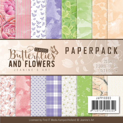 Paperpack - Jeanine's Art Classic Butterflies and Flowers