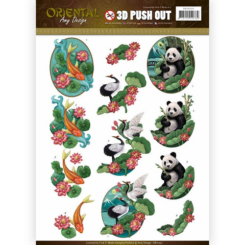 Push Out - Amy Design - Oriental - Animals