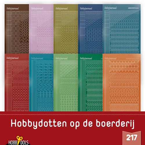 Stickerset Hobbydols 217