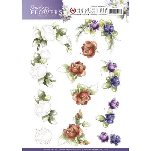 Push Out - Precious Marieke - Timeless Flowers - Roses