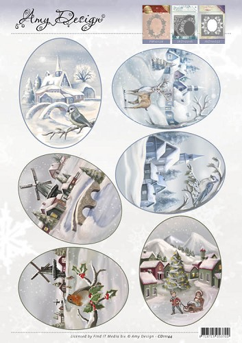 3D Topper - Amy Design - Winter Landscapes