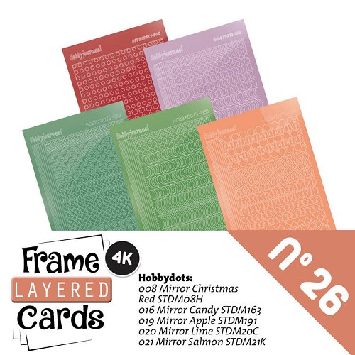 Frame Layered Cards 26 - Stickerset