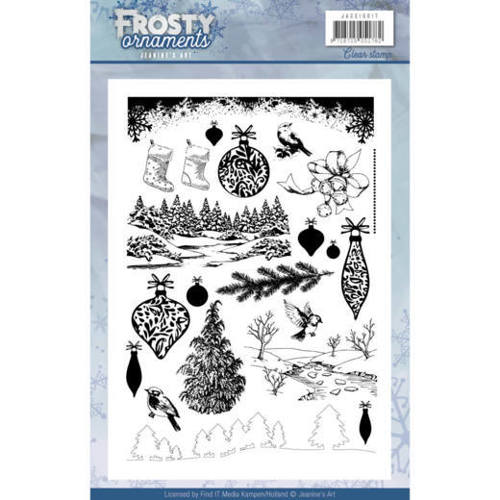 Clearstamp - Jeanine's Art - Frosty Ornaments