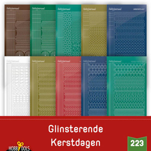 Stickerset Hobbydols 223