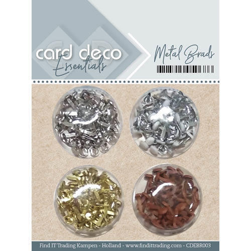 Card Deco Essentials - Metal Brads