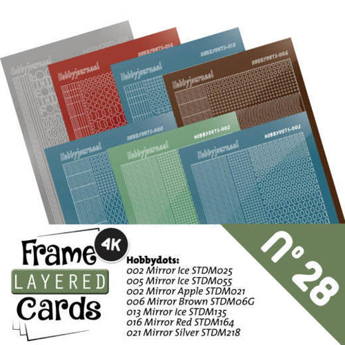 Frame Layered Cards 28 - Stickerset