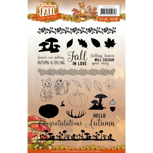 Clear Stamps - Yvonne Creations - Fabulous Fall