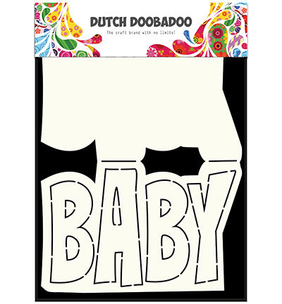 Card Art Text 'Baby'