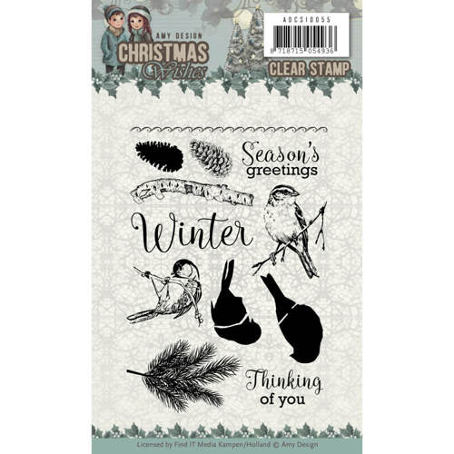 Clear Stamps - Amy Design - Christmas Wishes