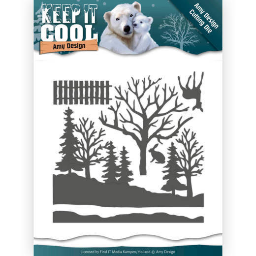 Dies - Amy Design - Keep it Cool - Cool Forest