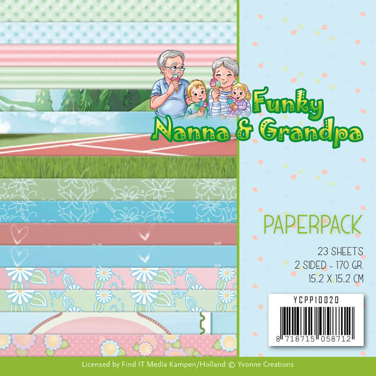 Paperpack - Yvonne Creations - Funky Nanna's