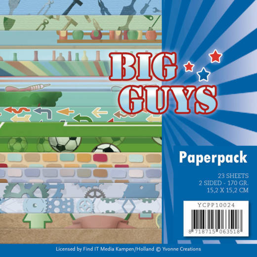 Paperpack - Yvonne Creations- Big Guys