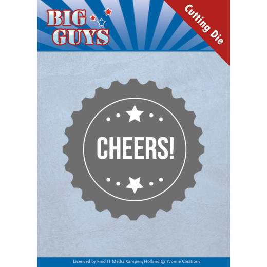 Dies - Yvonne Creations - Big Guys - Cheers