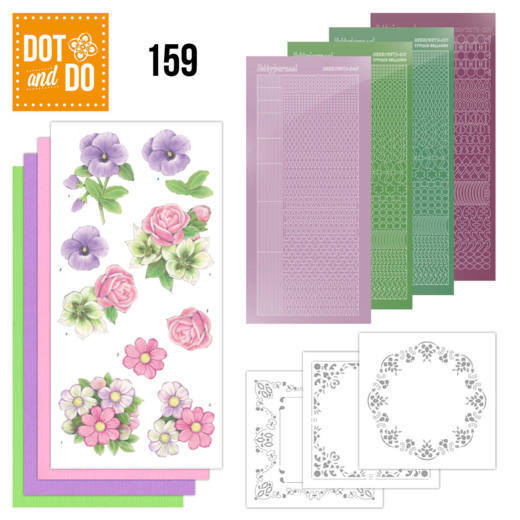Dot and Do 159 Summer Flowers