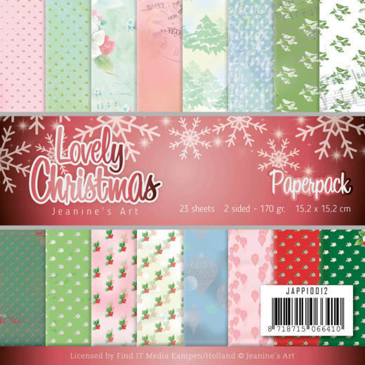 Paperpack - Jeanine's Art - Lovely Christmas